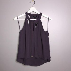 BNWT Dynamite Sleeveless Cami Blouse with Ties
